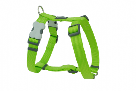 Red Dingo Dog Harness Classic Lime green